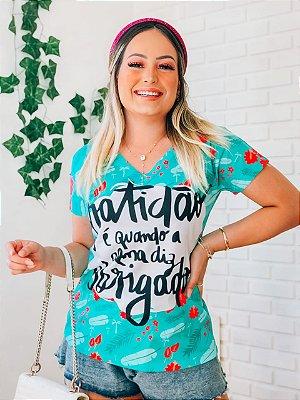 T-Shirt no Atacado Gratidão