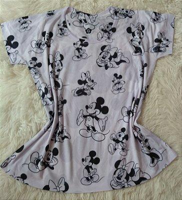 Tshirt Feminina para Revenda Mickey e Minnie