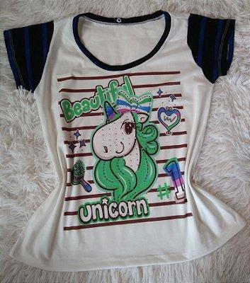 Blusa Feminina Para Revenda Beautiful Unicorn