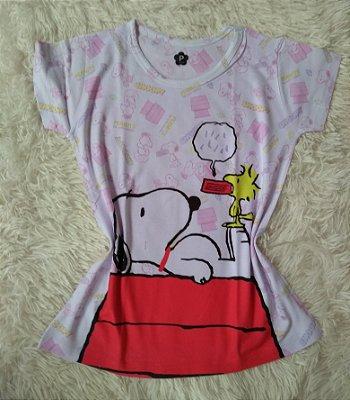 Blusinha Feminina Para Revenda Snoopy