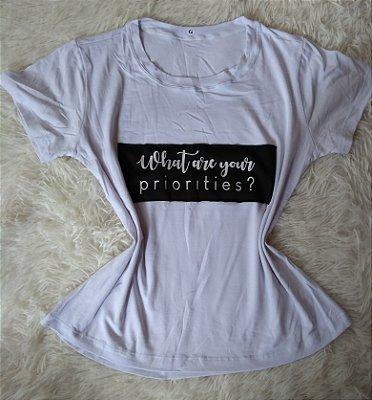 Blusinha Feminina Para Revenda Priorities