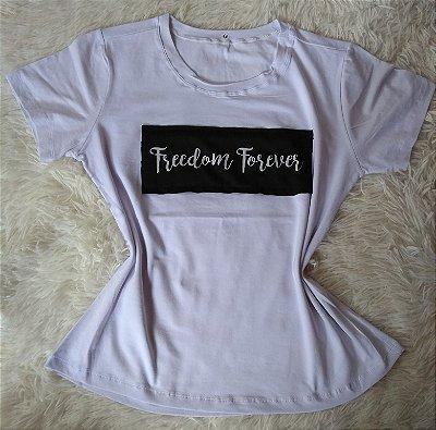 T-Shirt Feminina no Atacado Freedom Forever