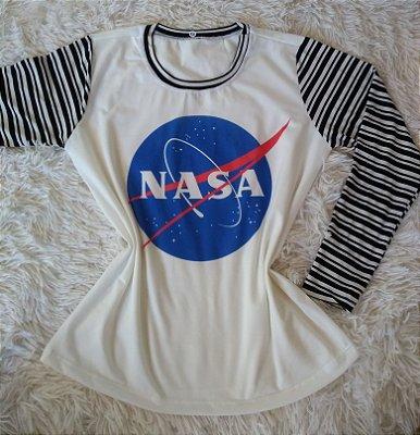 T-Shirt Feminina no Atacado Nasa