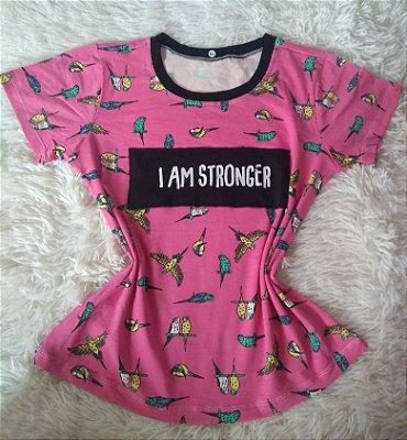Blusinha Feminina Para Revenda I Am Stronger
