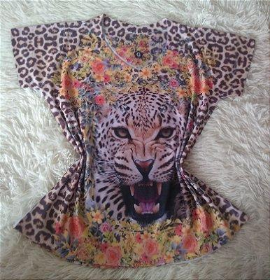 TShirt Feminina no Atacado Tigre