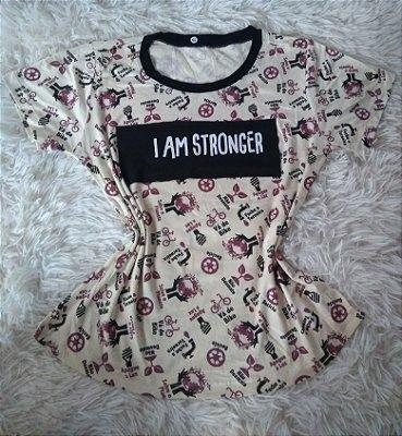 TShirt Feminina Para Revenda Stronger