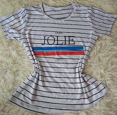 T Shirt Feminina Para Revenda Jolie