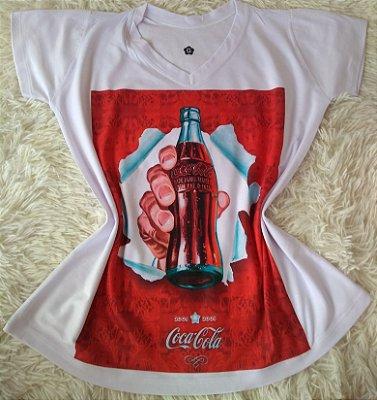 T-Shirt Feminina no Atacado Coca
