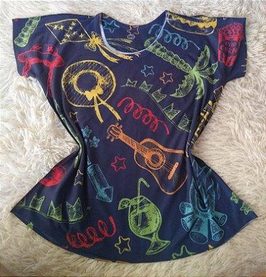 T Shirt Feminina Para Revenda Elementos Desenho