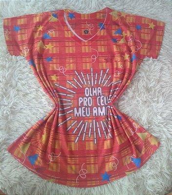 TShirt Feminina Para Revenda Olha Pro Céu
