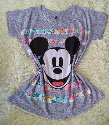 T shirt Feminina no Atacado Mickey Rosto