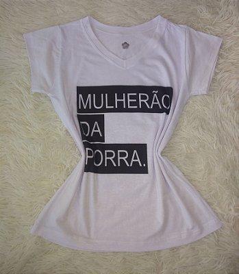T-shirt Feminina no Atacado Mulherão