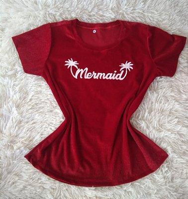 T Shirt Feminina Para Revenda Mermaid