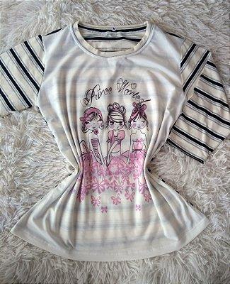 T-Shirt Feminina Para Revenda Prince Wanted