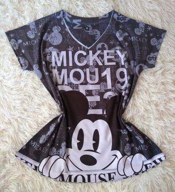 Blusa Feminina no Atacado Mickey Mouse 19