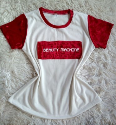 TShirt Feminina no Atacado Beauty Machine