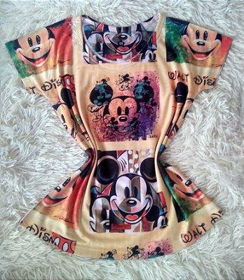 T-Shirt Feminina Para Revenda Fundo Mickey