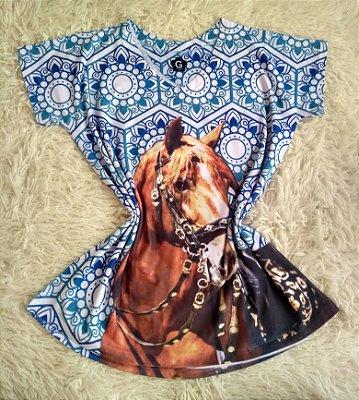 Tee Feminina No Atacado Cavalo