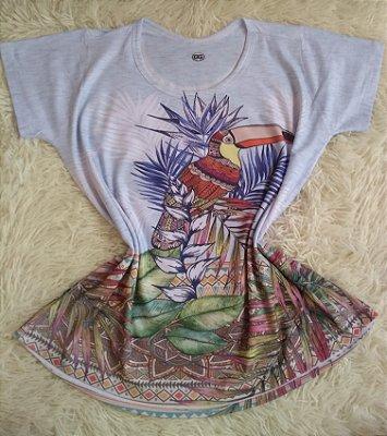 Tshirt Feminina no Atacado Tucano Grande