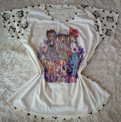 T Shirt Feminina Para Revenda Amigas