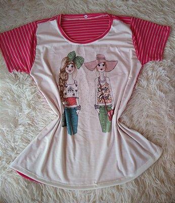 T Shirt Feminina Para Revenda Girls
