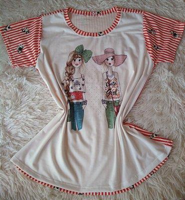 T-Shirt Feminina Para Revenda Girls