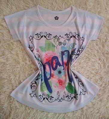 T-shirt Feminina no Atacado Paz