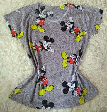 Tee Feminina no Atacado Mickeys