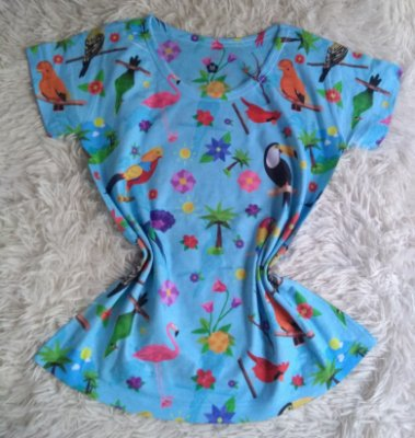 Blusa Feminina Para Revenda Aves