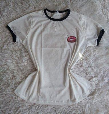 T Shirt Feminina no Atacado Donut Fundo Branco