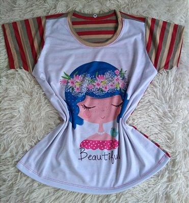 T Shirt Feminina Para Revenda Beautiful Woman