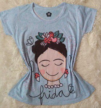 T-Shirt Feminina no Atacado Frida