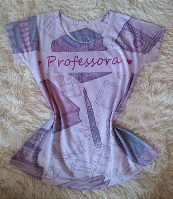 T-Shirt Feminina Para Revenda Professora