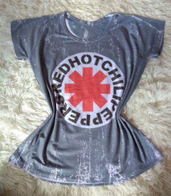 T-Shirt Feminina no Atacado Red Hot