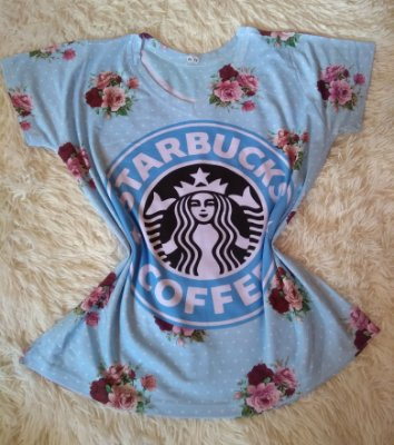 T Shirt Feminina no Atacado Starbucks