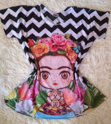 T Shirt Feminina Para Revenda Frida Fofa