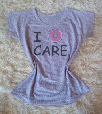 Tee Feminina no Atacado Donut Care