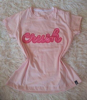 T-Shirt Feminina Para Revenda Crush
