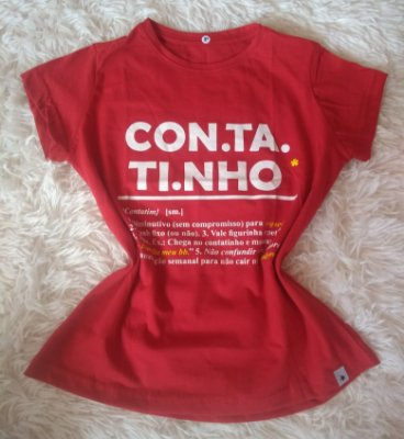 T Shirt Feminina no Atacado Contatinho