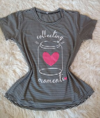 T-Shirt Feminina Para Revenda Collecting Moments Listrada