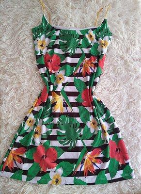 Dress Para Revenda Flores Listras e Plantas