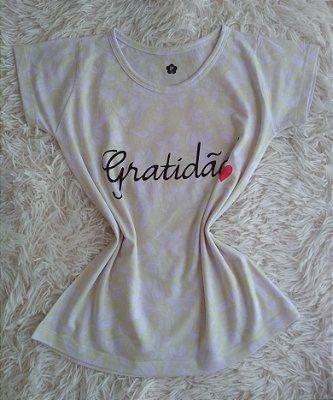 Blusa Feminina no Atacado Gratidão