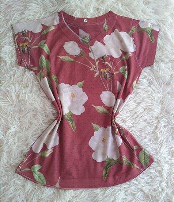 Blusa Feminina Para Revenda Rosas