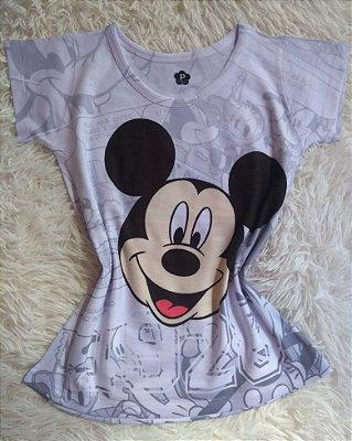 Blusa Feminina no Atacado Mickey Rosto