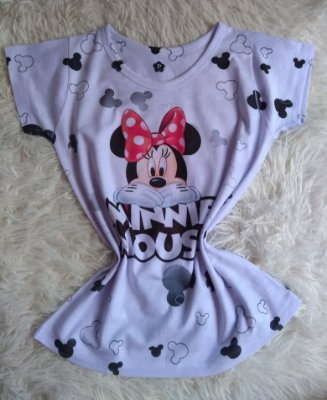 Tee Feminina no Atacado Minnie Mouse
