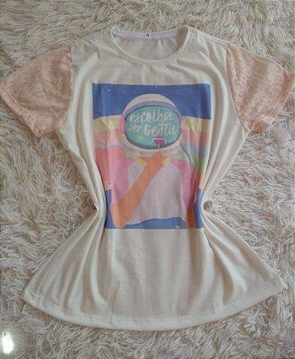 T-Shirt Feminina No Atacado Escolha Ser Gentil