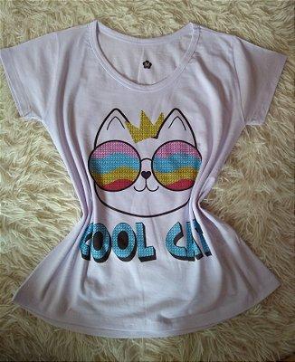 Tee Feminina Para Revenda Cool Cat