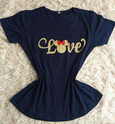 Blusinha Feminina no Atacado Love Minnie
