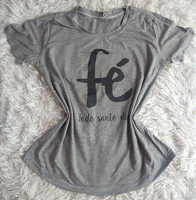 T-Shirt Feminina no Atacado Fé Todo Dia