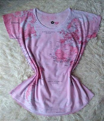 Blusa Feminina no Atacado Mapa